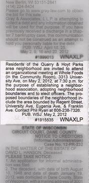 Class-II-public-notice